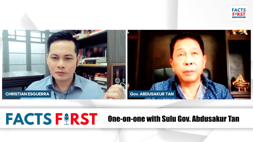 Ep. 8: One-on-one with Sulu Gov. Abdusakur Tan