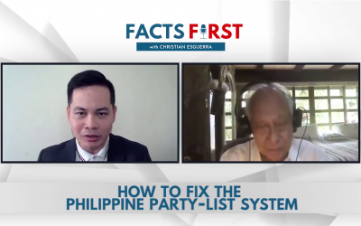 Ep. 9: How to fix the Philippine Party-list System
