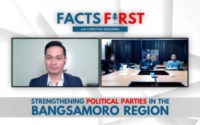 Ep. 11: Political Party-building in the Bangsamoro