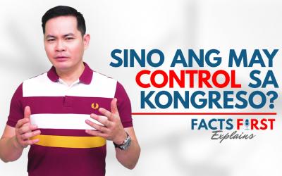 Sino ang may control sa Kongreso? | Facts First Explains