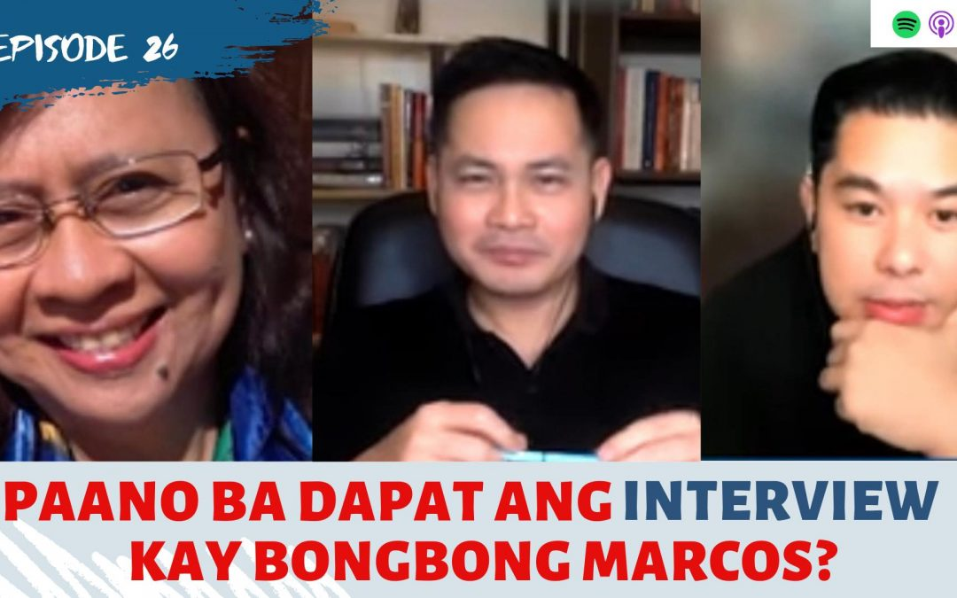 Ep. 26: When 'influencers' interview politicians